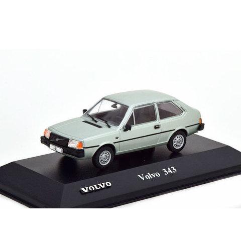 Volvo 343 lichtgroen metallic - Modelauto 1:43