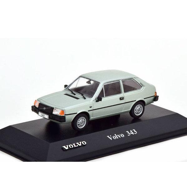 Modelauto Volvo 343 lichtgroen metallic 1:43