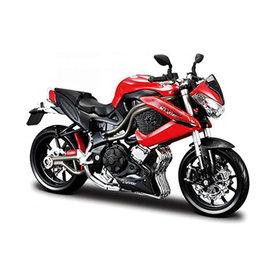 Maisto Benelli Tornado Naked TRE R160 rot/schwarz - Modell-Motorrad 1:12