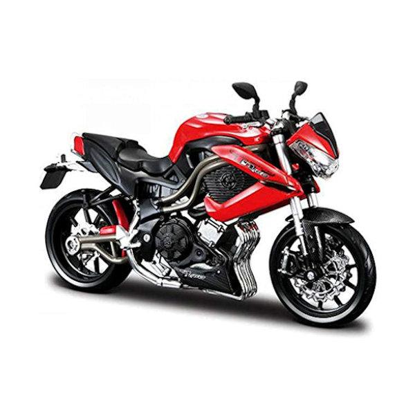 Modell-Motorrad Benelli Tornado Naked TRE R160 rot/schwarz 1:12