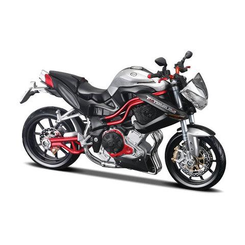 Benelli Tornado Naked TRE R160 silver/black - Model motorcycle 1:12