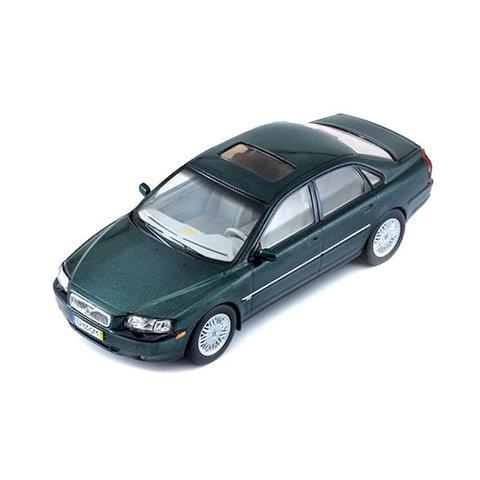 Volvo S80 1999 dark green metallic - Model car 1:43