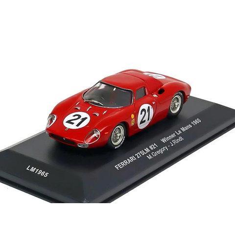 Ferrari 275 LM No. 21 1965 red - Model car 1:43