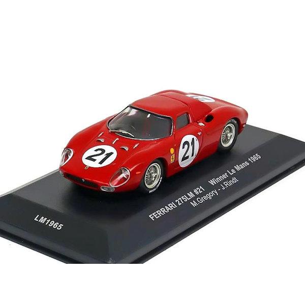 Model car Ferrari 275 LM No. 21 1965 red 1:43 | Ixo Models