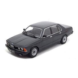 KK-Scale BMW 733i (E23) 1977 black metallic - Modelauto 1:18