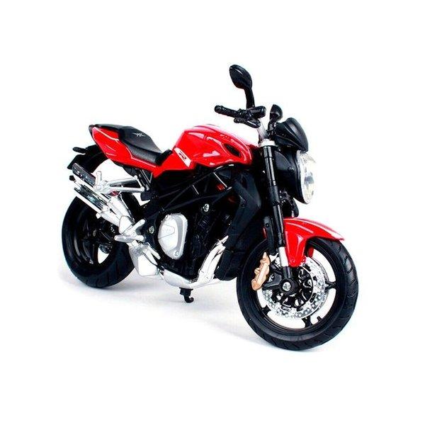 Modell-Motorrad MV Agusta Brutale 1090 R 2012 rot/schwarz 1:12