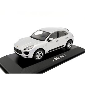 Minichamps   Model car Porsche Macan 2013 Rhodium silver 1:43