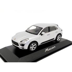 Minichamps Porsche Macan 2013 Rhodium zilver - Modelauto 1:43