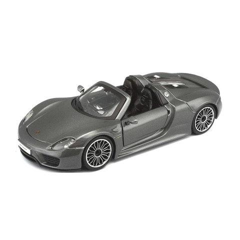 Porsche 918 Spyder grey metallic - Model car 1:24