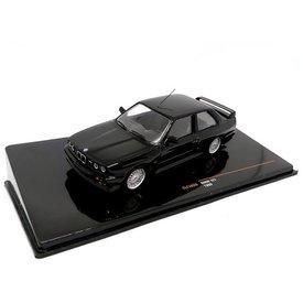 Ixo Models BMW M3 (E30) Sport Evolution 1990 zwart - Modelauto 1:43