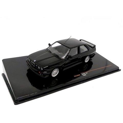 BMW M3 (E30) Sport Evolution 1990 zwart - Modelauto 1:43