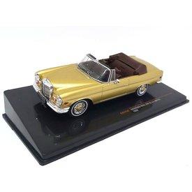 Ixo Models Mercedes Benz 280 SE 3.5 (W111) 1969 goud metallic - Modelauto 1:43