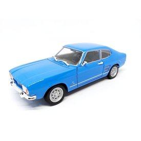 Welly   Model car Ford Capri 1969 light blue 1:24