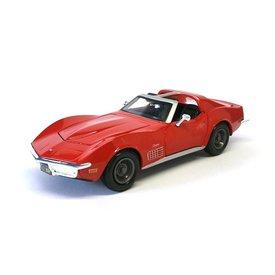Maisto Chevrolet Corvette 1970 rood - Modelauto 1:24