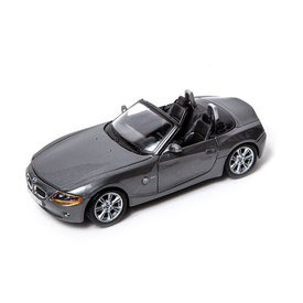 Bburago BMW Z4 grey metallic - Model car 1:24