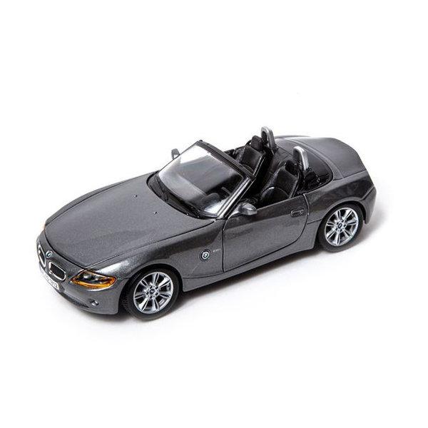 Model car BMW Z4 grey metallic 1:24