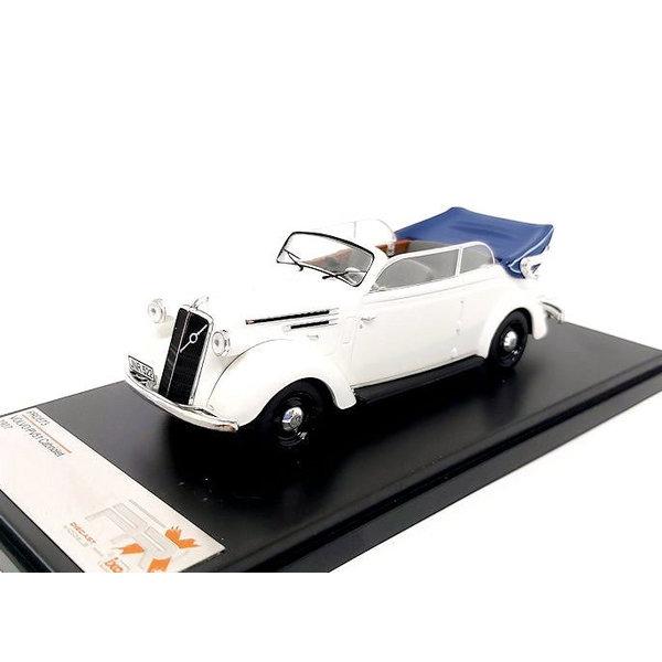Modelauto Volvo PV51 Cabriolet 1937 wit 1:43