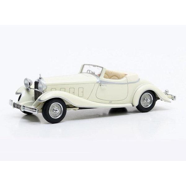 Modelauto Delage D8S De Villars Roadster 1933 creme 1:43