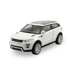 Welly Land Rover Range Rover Evoque Coupe weiß - Modellauto 1:24