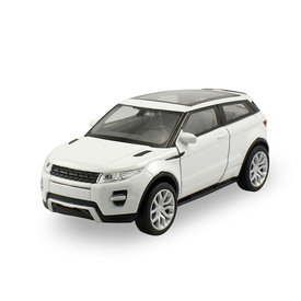 Welly Land Rover Range Rover Evoque Coupe wit - Modelauto 1:24