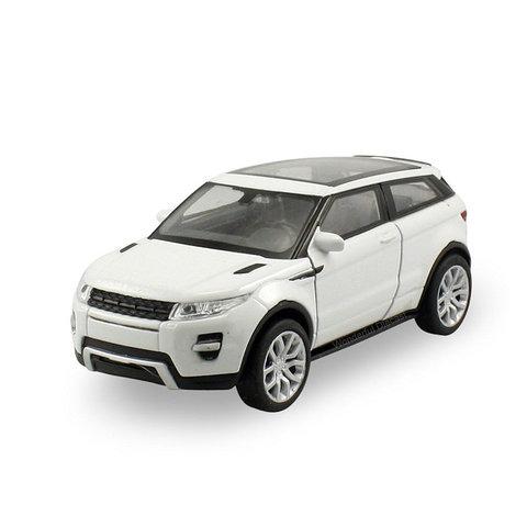 Land Rover Range Rover Evoque Coupe wit - Modelauto 1:24