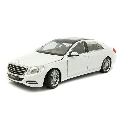 Mercedes Benz S-Klasse (W222) wit - Modelauto 1:24