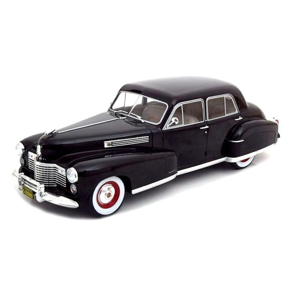 Modelauto Cadillac Fleetwood Series 60 Special Sedan zwart 1:18