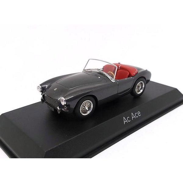 Modelauto AC Ace 1957 grijs metallic 1:43