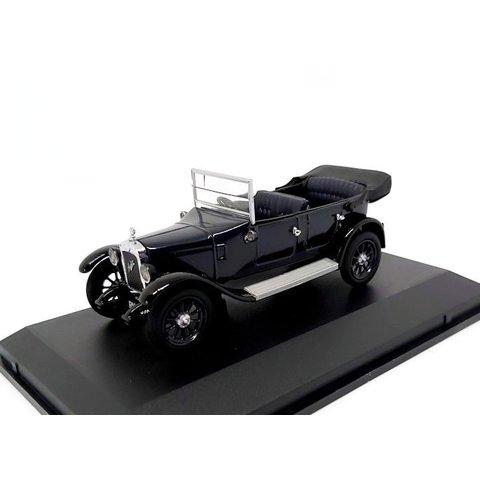Austin Heavy Twelve kobalt blauw - Modelauto 1:43