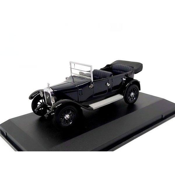 Modelauto Austin Heavy Twelve kobalt blauw 1:43