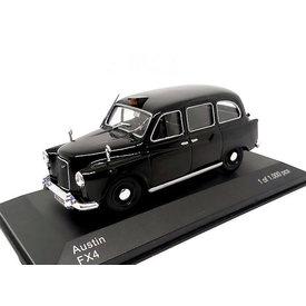WhiteBox | Modelauto Austin FX4 Taxi zwart 1:43