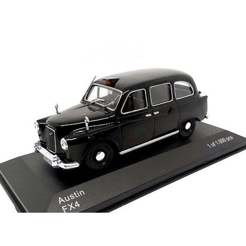 Modelauto Austin FX4 Taxi zwart 1:43