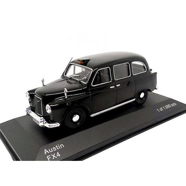 Model car Austin FX4 'Taxi' black 1:43 | WhiteBox