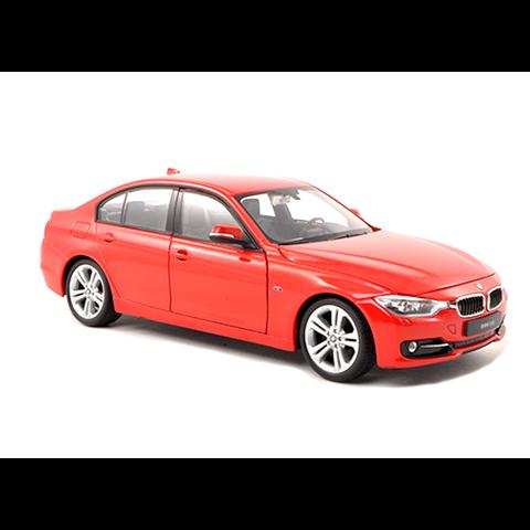 Model car BMW 335i (F30) red 1:24