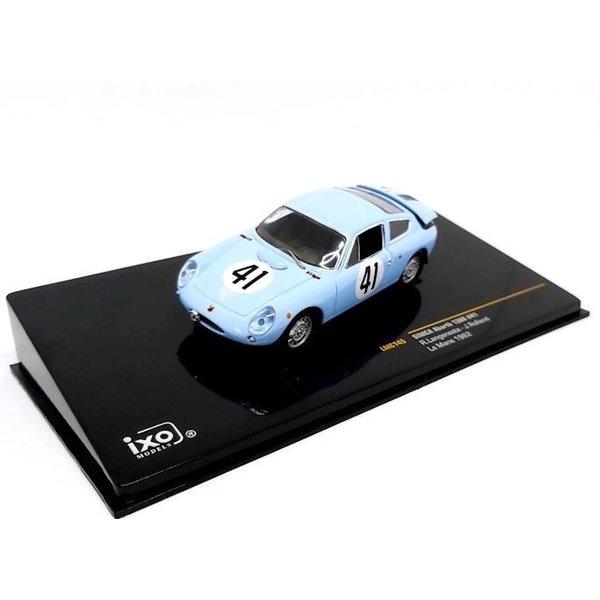 Model car Simca Abarth 1300 No. 41 1962 light blue 1:43 | Ixo Models