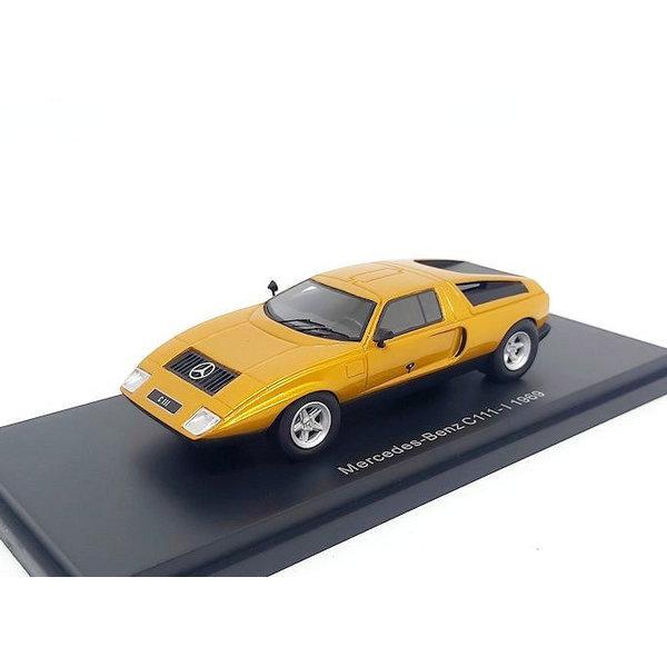 Model car Mercedes Benz C111-I 1969 orange metallic 1:43