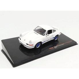 Ixo Models Porsche 911 Carrera RS 2.7 1973 wit - Modelauto 1:43