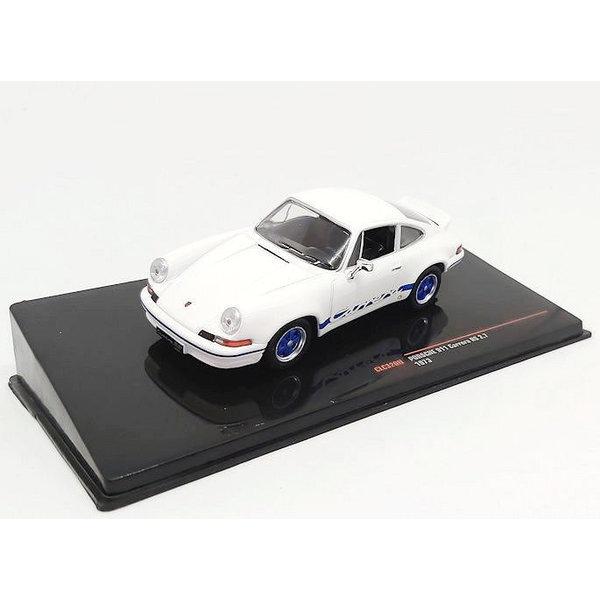 Modellauto Porsche 911 Carrera RS 2.7 1973 weiß 1:43