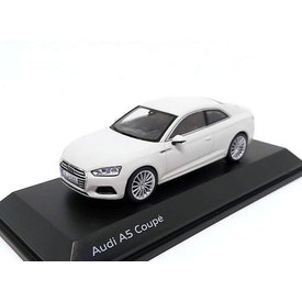 Spark Audi A5 Coupe 2017 Gletsjer wit - Modelauto 1:43