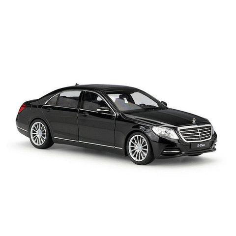 Mercedes Benz S-Class (W222) black - Model car 1:24