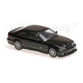 Maxichamps BMW M3 E36 1992 zwart - Modelauto 1:43