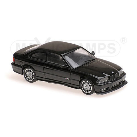 BMW M3 (E36) 1992 schwarz - Modellauto 1:43
