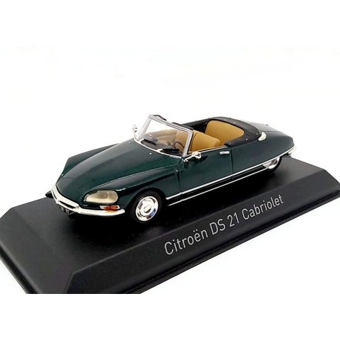 Citroën DS 21 Cabriolet 1971 Forest green - Model car 1:43