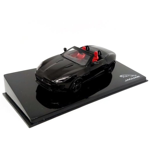 Modelauto Jaguar F-type V8-S Convertible zwart 1:43