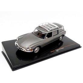 Ixo Models | Modelauto Citroën ID 19 Break 1960 grijs metallic 1:43