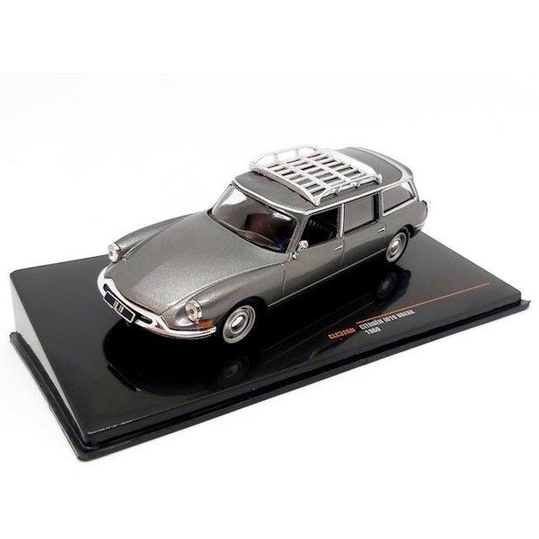 Model car Citroën ID 19 Break 1960 grey metallic 1:43