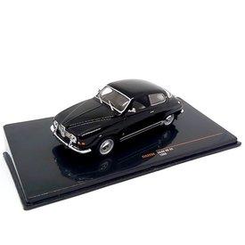 Ixo Models Saab 96 V4 1969 zwart - Modelauto 1:43