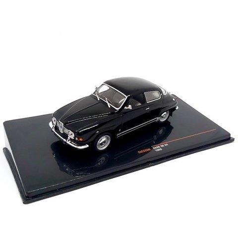 Saab 96 V4 1969 zwart - Modelauto 1:43