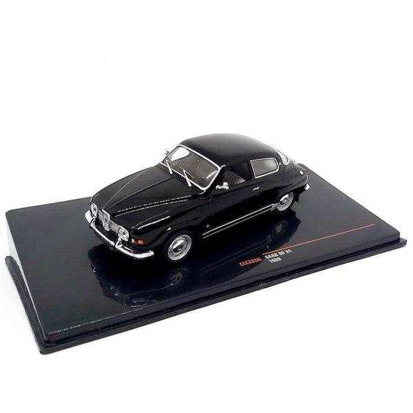 Modelauto Saab 96 V4 1:43 zwart 1969 | Ixo Models