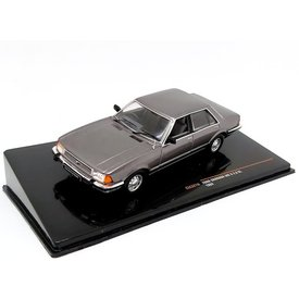 Ixo Models Ford Granada Mk II 2.8 GL 1987 grey metallic - Model car 1:43